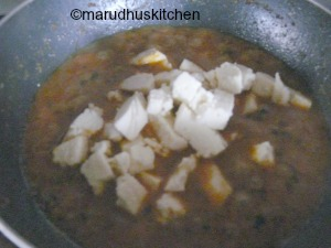 easy paneer curry for chapathi /paneer sabji gravy