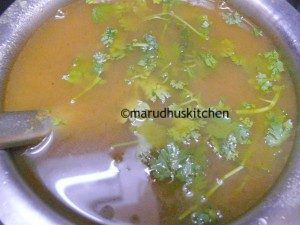 mulligatawny soup indian style / vegetarian mulligatawny soup