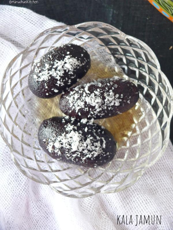 how to make kala jamun sweet /marudhuskitchen