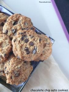 easy homemade oatmeal chocolate chip cookies