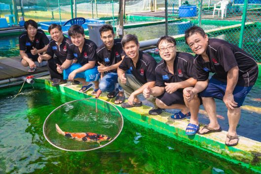Marugen Fish Farm Group Photo s