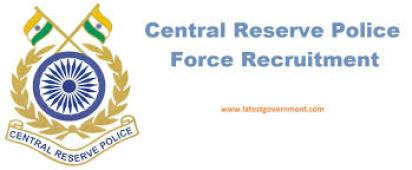 Central Reserve Police Force Recruitment