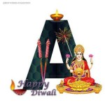 Download Diwali Whatsapp Dp ABCD Images, Diwali Alphabet Images For Whatsapp Picture here Your Name Alphabet Diwali Images for Whatsapp.