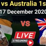 India vs Australia 1st Test Live Streaming: