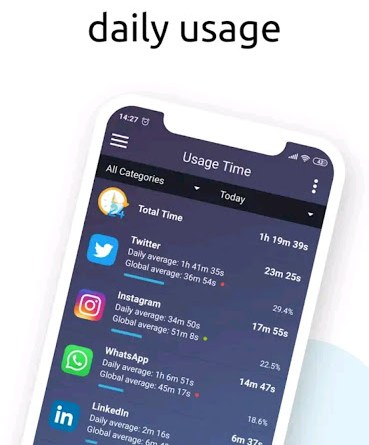 Screen Time Tracker & Limit StayFree App Usage