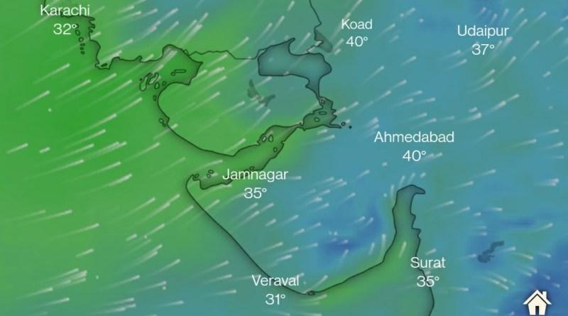 Monsoon Tracker: Live Update @www.windy.com