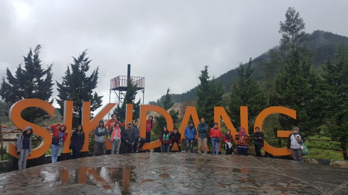 Sikidang Welcome Sign