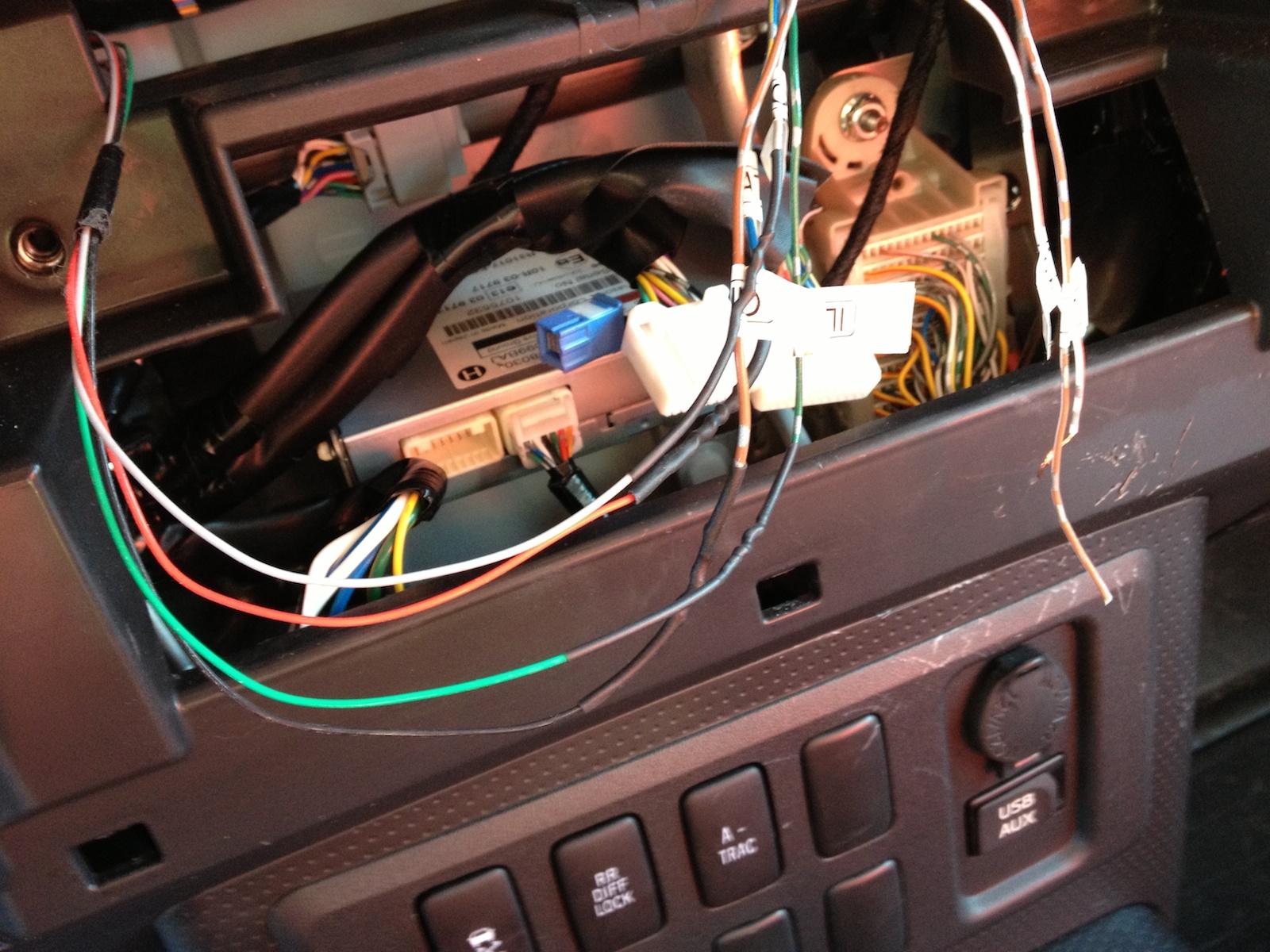 toyota head unit wiring diagram fog light relay fj stereo 31 images