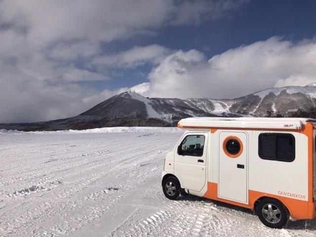 軽キャンピングカー 北海道