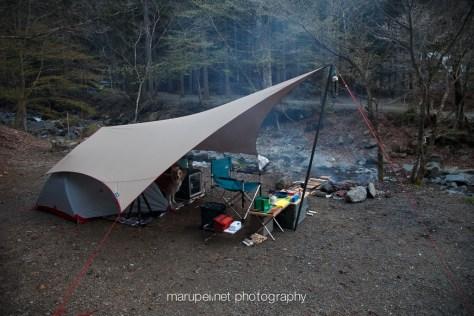 道志の森テントサイト
