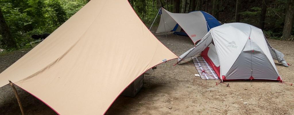道志の森 テントサイト