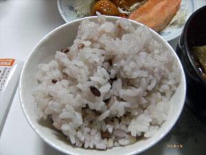 セコムの食の十五穀米をいた