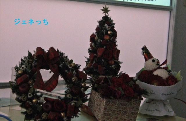クリスマスフラワーギフト
