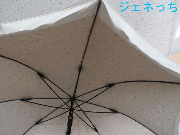 色違いジャンプ傘ブラック