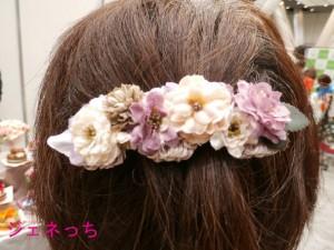 Mon-favori-花飾り付けて