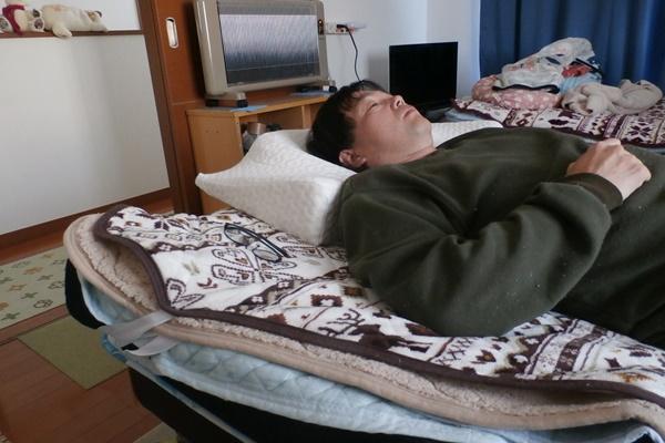 YOKONEで、寝てみた