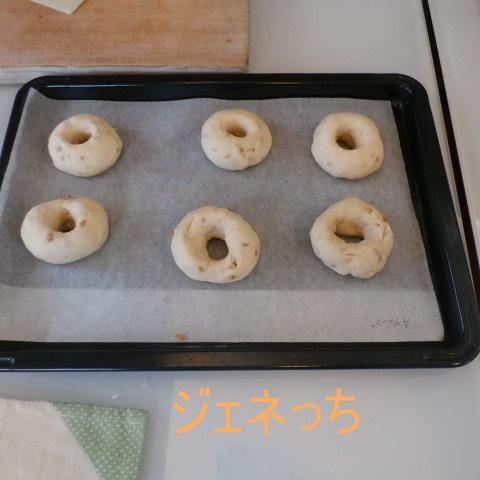 パン形成。これから焼きます