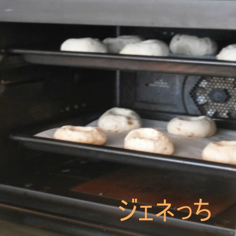 パンを焼いていきます