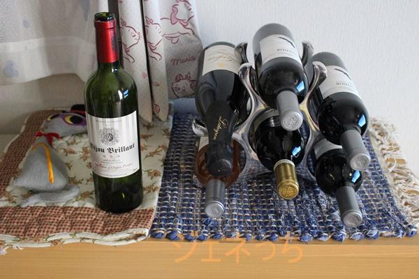 ワイン6本並べてみた