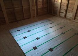 ガス床暖房