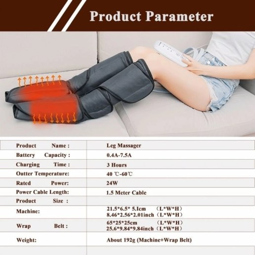 Foot and Calf Massager Main 6