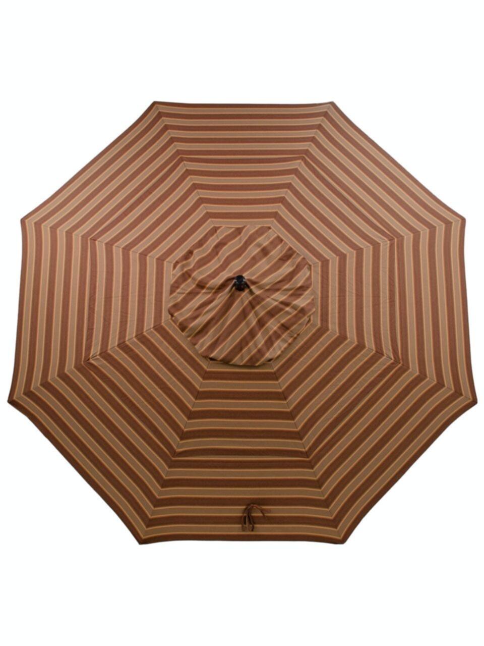 outdoor patio california umbrella 11 ft davidson redwood aluminum market umbrella 3692896