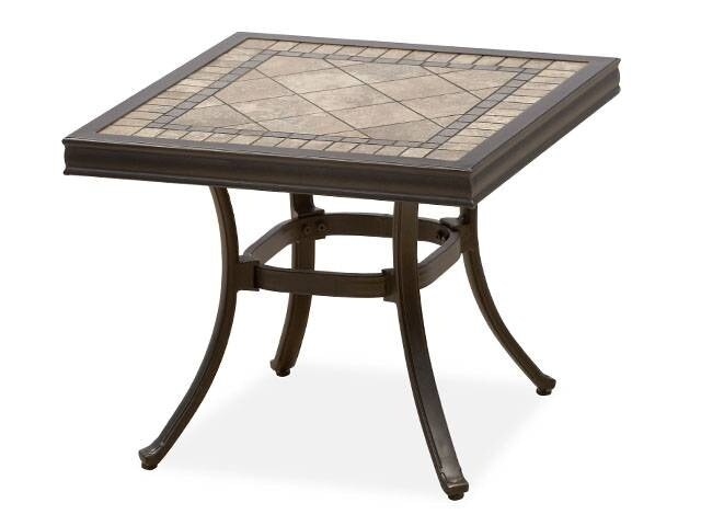 cordoba stone top 22 x 22 in end table