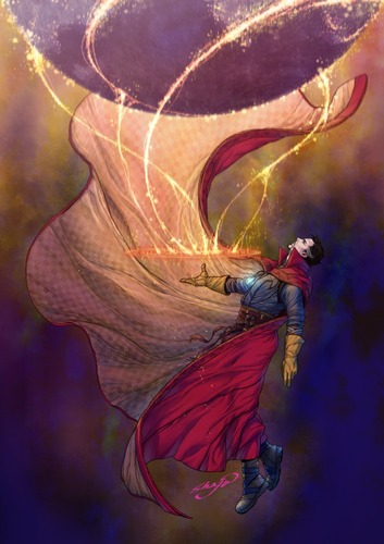 Wallpaper Alone Girl Doctor Strange Marvel 1963