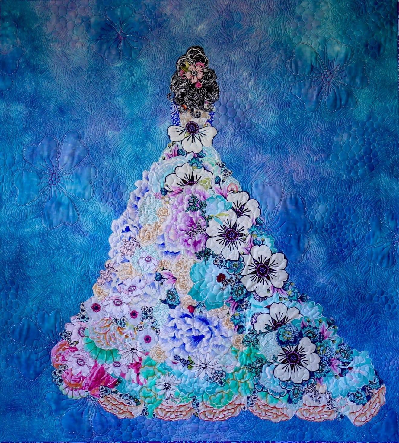 Shalom Girl Collage  Paper Pattern  Marveles Art Studios