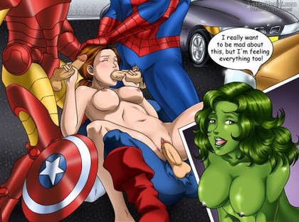 hottest marvel girls rule 34