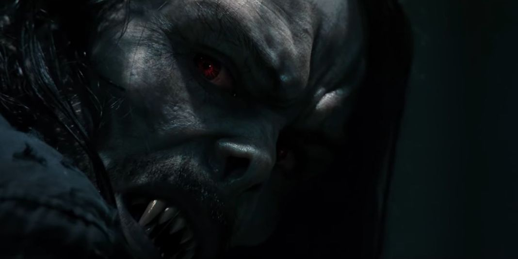 jared leto as morbius in sony pictures movie morbius