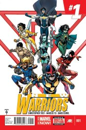 Couverture de New Warriors Vol 5 1