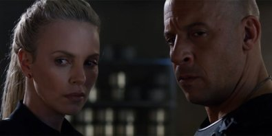 Photo du film Fast & Furious 8 avec Charlize Theron et Vin Diesel
