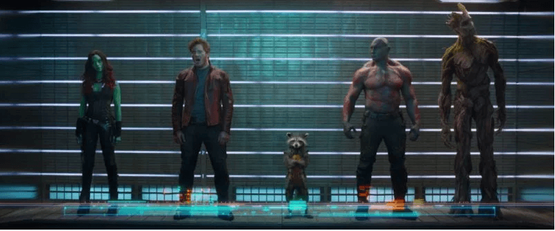 #10 Guardians of the Galaxy 2014