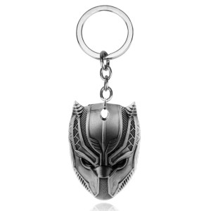 Black Panther Mask Keychain - MarvelOfficial.com