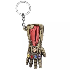 Ironman gauntlet infinity stones keychain - Marvelofficial.com