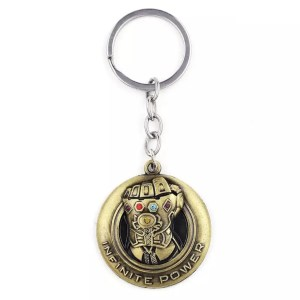 Thanos infinite power gauntlet keychain - MarvelOfficial.com