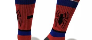 Marvel Socks - Marvel Spider-Man Crew Socks - Marvelofficial.com