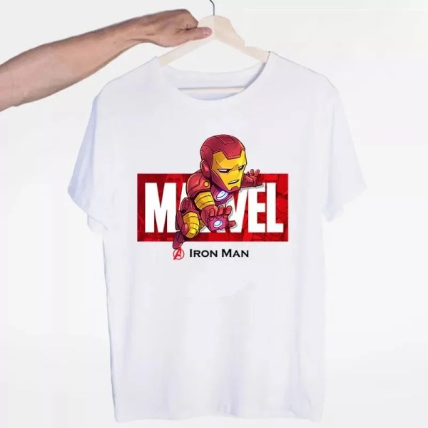 Marvel Logo Avengers Iron Man T-Shirt - Marvelofficial.com