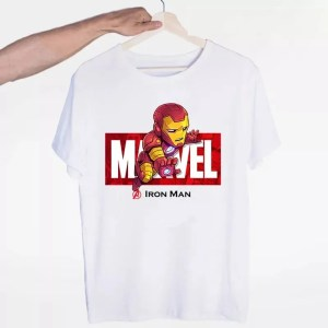 Marvel Logo Avengers Iron Man T-Shirt - Marvelofficial.com
