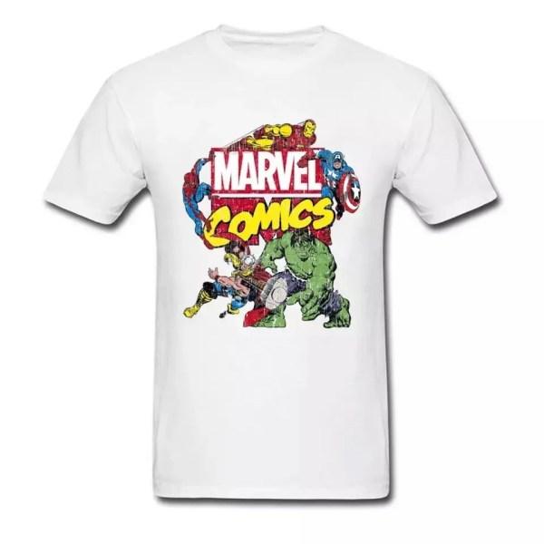 Marvel comics t-shirt - marvelofficial.com