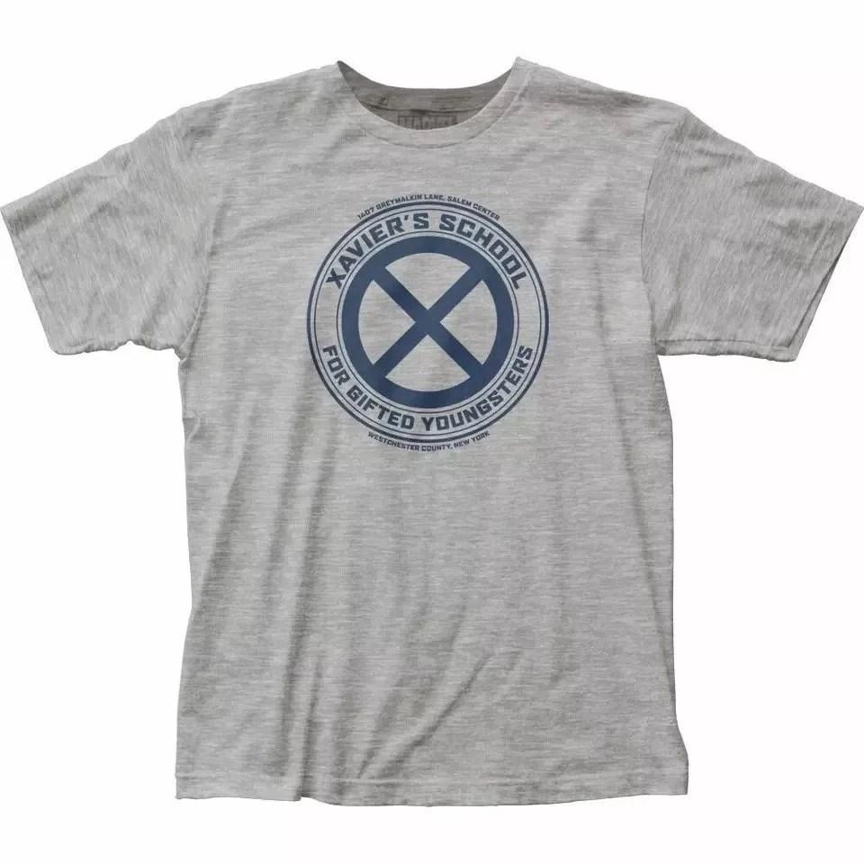 Marvel x-men xavier's school t-shirt - marvelofficial.com