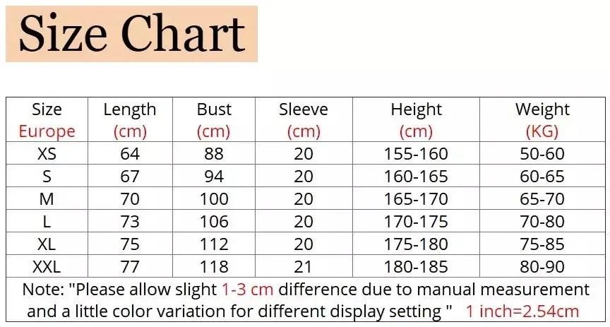 Tshirt size chart - Marvelofficial.com