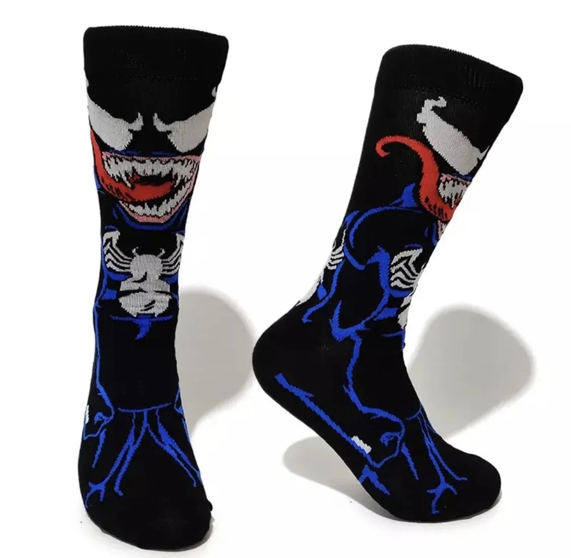 Marvel Venom Character Crew Socks