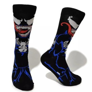 Marvel Socks - Marvel Comics Venom Crew Socks - Marvelofficial.com