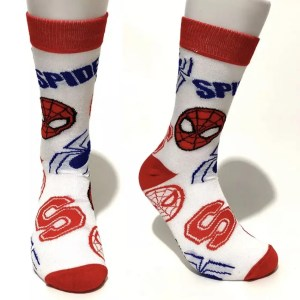 Marvel Socks - Marvel Spider-Man White Crew Socks - marvelofficial.com