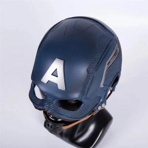 Marvel Captain America Mask Prop Replica - Marvelofficial.com