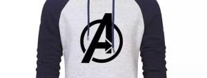 Marvel Avengers Logo Hoodie - Marvelofficial.com
