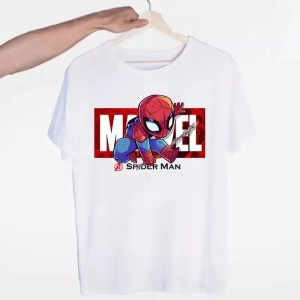 Marvel Logo Avengers Spider-Man T-Shirt - Marvelofficial.com