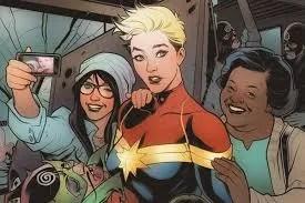 Marvel Captain Marvel - Best Marvel women characters - Marvelofficial.com